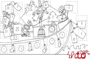 Calendario Dellavvento Da Stampare Per Bambini.Calendario Dell Avvento La Nave Di Clo