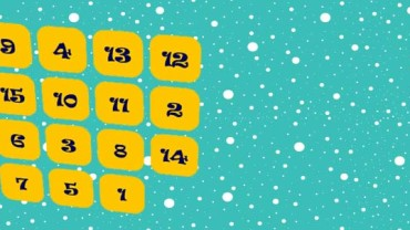 gioco del 15, ordina i numeri